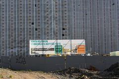 Soon Helsinki Will Look Like This (pni) Tags: sign wall suomi finland helsinki text plastic helsingfors written constructionsite tarpaulin gravel skrubu pni pekkanikrus