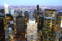 Midtown skyline looking east, NYC