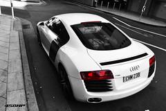 R8 (Cody Kim Photography) Tags: red white black colour cars car wheel race lights nikon sydney engine australia exotic german audi rims rare exclusive supercar v8 edit r8 audir8 d3100