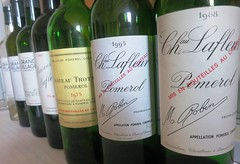 Chateau Lafleur for lunch along with old Trotanoy!