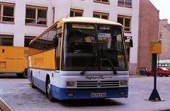 1632 19880421 Highland D275 FAS (CWG43) Tags: uk bus tiger leyland rapson duple highlandomnibuses highlandscottish d275fas