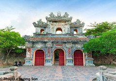 _DSC0911-Edit.jpg (womofa) Tags: old city travel roof building tower castle art heritage history tourism monument statue metal urn stone wall architecture bronze asian site amazing ancient gate asia southeastasia vietnamese dragon antique citadel flag famous capital sightseeing central entrance style landmark palace unesco vietnam forbidden restore huge imperial destination historical pavilion restoration aging ding hue dynasty emperor indochina