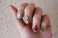 Frutas (PamelaOlliveira) Tags: frutas unhas nailart capricho esmaltes clubedoesmalte esmaltedasleitoras