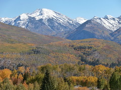 Colorado Fall Colors from MCClure Pass - Mt Sopris
