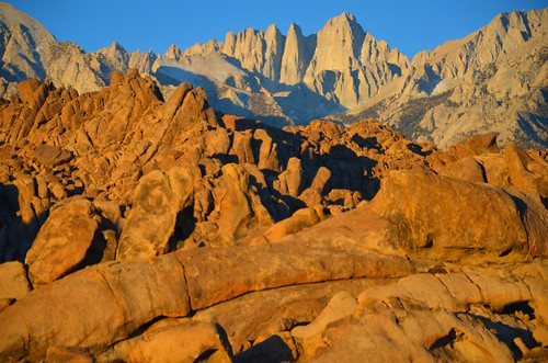 the Alabama Hills & Mount Whitney, Lone Pine, CA  10-26-13