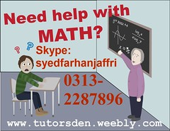 mathematics tutor, math tutor in karachi, online tuition, pakistan