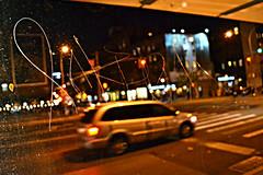 InkHead (Now It's Real!) Tags: nyc newyorkcity ny newyork bus graffiti nikon nightshot manhattan graf tags busstop graff inkhead ih1 newyorkcitygraffiti d3100 nikond3100
