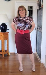 Skirt (Trixy Deans) Tags: pink hot cute sexy classic tv highheels legs cd skirt crossdressing tgirl tranny transvestite transgendered crossdresser skirts sexylegs transsexual sexyblonde pencilskirt xdresser transvesite sexyheels trixydeans sexytransvestite sexytransvestitered