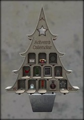 Advent Calendar (haileystarsider) Tags: christmas advent secondlife decorating decor trompeloeil interiordecorating thearcade secondlifehome