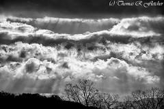 November Clouds (travelphotographer2003) Tags: november cloud wet rain weather clouds colorful solitude stormy westvirginia serenity bleak stark stormysky darkclouds freshness stormclouds refreshment appalachianmountains purity tranquilscene alleghenymountains beautyinnature webstercounty