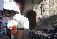 Sinan, Rüstem Paşa Mosque, street entry