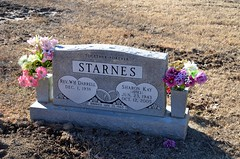 Darrell Starnes and Sharon Kay Starnes (Adventurer Dustin Holmes) Tags: family cemeteries cemetery grave uncle graves gravestone relatives tombstones relative gravemarkers gravemarker darrellstarnes sharonstarnes sharonkaystarnes sharonkstarnes newhomecemetery