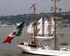 Tall Ship Buque Escuela Arm Cuauhtemoc  (Mexico), Parade of Sail on the Hudson River, OpSail 2012 and Fleet Week New York (jag9889) Tags: city nyc sea ny newyork history mexico ship arm manhattan military ships banner navy sailors historic parade celebration civilwar american maritime sail week escuela hudsonriver regatta marines tall fleet visiting operation usnavy schooner tallships marinecorps bicentennial services vessels warof1812 fleetweek 2012 buque 1812 uscg opsail cuauhtemoc uscoastguard starspangled operationsail coastguardsmen jag9889 fleetweek2012 y2012 opsail2012