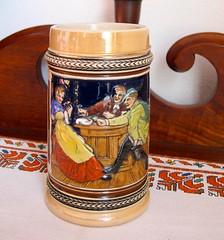 Souvenirs: Beer stein from Austria (ali eminov) Tags: souvenirs cups steins beersteins beersteinsfromeurope