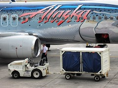 Alaska Airlines N559AS (kenjet) Tags: fish alaska hawaii airport ramp gate salmon cargo captain theme honolulu boeing baggage loading 737 hnl walkaround alaskaairlines livery 737800 honoluluinternationalairport salmonthirtysalmon phnl as 737890 n559as salmonthirtysalmonii