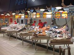 Auchan Giugliano nebulizzazione pescheria