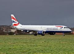 G-LCYJ Embraer ERJ-190SR British Airways City Flyer (Keith B Pics) Tags: ba southend sen embraer erj erj190 cityflyer egmc glcyj briitshairways