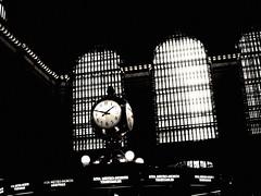 Clock (thelmabowlen) Tags: nyc newyork centralpark broadway timessquare brooklynbridge grandcentralstation billboards columbuscircle