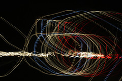 (Jeremy Whiting) Tags: blue light red white abstract black lines digital painting long exposure circular linear