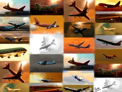 airplane-collage-aircraft-flight-2-poster-print-marcello-cicchiniR PRINT (Marcello Cicchini) Tags: old travel red orange color beach metal plane vintage airplane point flying sand technology power antique metallic aircraft air transport flight wing engine cockpit bluesky cargo airshow nostalgia turbo chrome transportation airline nostalgic artdeco passenger airborne dc3 propeller powerful boeing747 turbine prop airliner aerospace sunnyday fuselage whiteclouds nosecone dc2 dc7 dc6 dc4 groundedairplane landedairplane