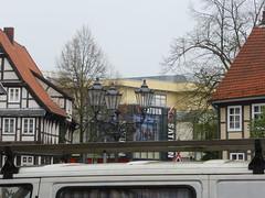 Celle (moideniznunez) Tags: old house town historical altstadt halftimbered fachwerk fachwerkhaus timberframe celleb