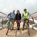 Stephen Patterson (Sustrans NI), Wendy Langham (CCG) and Minister Danny Kennedy