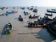 Fishermen Preparing to Go to Sea, Sittwe, Myanmar, 2016 (deemixx) Tags: myanmar burma sittwe fishing fishermen bayofbengal fishingfleet