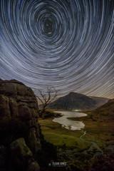 I D W A L 'S - C I R C U I T (elganjones1) Tags: startrails night sky north wales llyn idwal ogwen valley snowdonia cymru ser stars photography ngc
