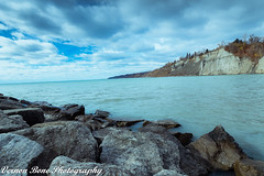 Scarborough Bluffs (vernonbone) Tags: 1020mmsigma 2016 2017 blue d3200 lakeontario lens march ontario toronto bluffs lake landscape leadinglines nikon outside sigma street water winter