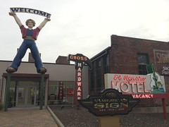 The American Sign Museum (jericl cat) Tags: carpeteria genia el rancho motel american sign museum cincinnati ohio 2016 neon signs history collection exhibit