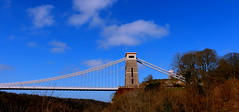 A Bridge Too Far (acwills2014) Tags: clifton cliftonsuspensionbridge bridge gorge avon brunel blue bluesky historic bristol