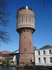 Utrecht: Watertoren Rotsoord (harry_nl) Tags: netherlands nederland 2017 utrecht watertoren watertower rotsoord heuveloord wt restaurant