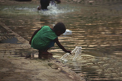Spend time with water (khondokar Touhid Likhon) Tags: street streetboy streetsmile speachless streethappyness child cute chandrimauddan dhaka2k17 dhakastreet bangladeshi bangladeshstreet sunset happy happyness lonly alone streetchild chitagong rajshai