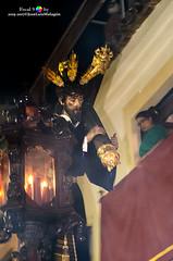 Nazareno Pasion 2015 2 PS (mabej2014) Tags: miércoles santa semana españa andalucía córdoba catedral mezquita luque conde potencias cristo corona cruz capirucho capirote nazareno llama cera vela vara
