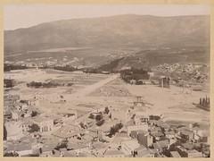 Το Ολυμπιείο και το Ζάππειο Μέγαρο (Giannis Giannakitsas) Tags: αθηνα athens athenes athen 19οσ αιωνασ 19th century greece grece griechenland ολυμπιειο ζαππειο