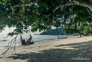 Playa columpio