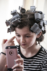 rollers (toyfoto) Tags: hair rollers clips theater experiment 42ndstreet 2017 cutesy girl babyofmine