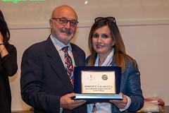 Arnaldo Porro con Simonetta Barucca