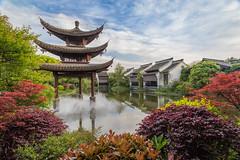 Banyan Tree Pagoda Hangzhou (linfuf) Tags: hotel china hangzhou banyantree pagoda spring park nature colors