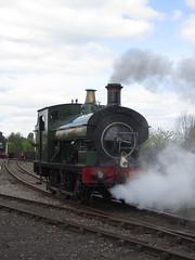 IMG_4721 - GWR Hudswell Clarke Saddle Tank 813 (SVREnthusiast) Tags: didcotrailwaycentre didcot railway centre gwrhudswellclarkesaddletank813 gwr hudswellclarke saddletank 813