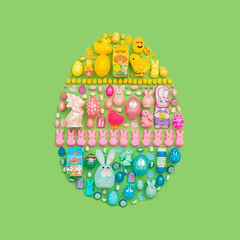 (J Trav) Tags: easter green seamless eggs square 500x500 colorful yellow pink purple 99centonlystores advertising