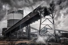 Scunthorpe steel works (gallowaydavid) Tags: scunthorpe steel works britishsteel industrial industry applebyfrodingham railway