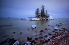 Greater Purpose (karenhunnicutt) Tags: trombolo lakesuperior island winter longexposure hoveland minnesota karenmeyerephotographycom karenhunnicutt fineartphotographer