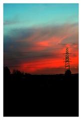 79 (roxyhopelust) Tags: sunset sky colors cloud nature nikon photo photography photos pic sundown sun warmcolors blue red orange yellow pink purple violet city cityscape silhouette