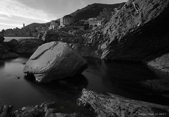 Stone (- Crupi Giorgio (official)) Tags: italy liguria genova bogliasco landscape seascape monochrome blackwhite bw stones reef relax longexposure sky sea canon canoneos7d sigma sigma1020mm