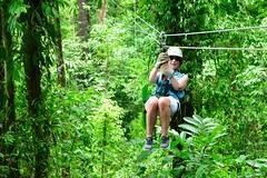 Zip-lining in Costa Rica (Tatchum) Tags: costa rica ziplining zip lining jungle