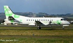 SP-KPR Saab 340 Glasgow February 2017 (pmccann54) Tags: spkpr saab340 sprintair