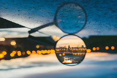 Magnifier | Kaunas #116/365 (A. Aleksandravičius) Tags: loupe magnifier sunset river old town skyline city bokeh night dark nikon nikond810 d810 sigma 35mm sigma35mmf14dghsmart sigma35 365days 3652017 365 project365 116365