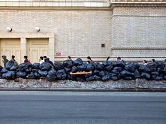 Fort Greene - Brooklyn (www.jmwork.com) Tags: schoolsout streetphotography bklyn trashbags students