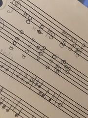 Sheet music (Area Bridges) Tags: 2016 february 201602 sheetmusic